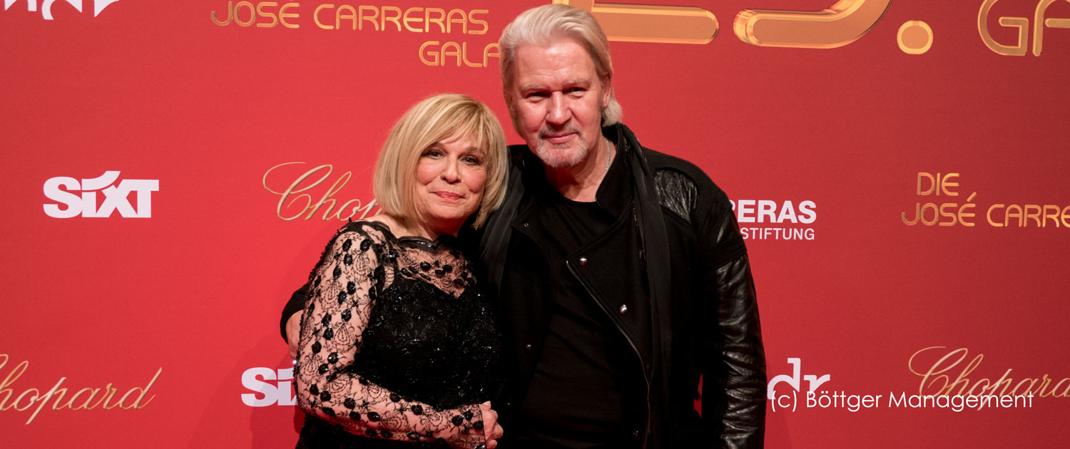 Mary Roos und Johnny Logan bei 25. Josè Carreras Gala 2019
