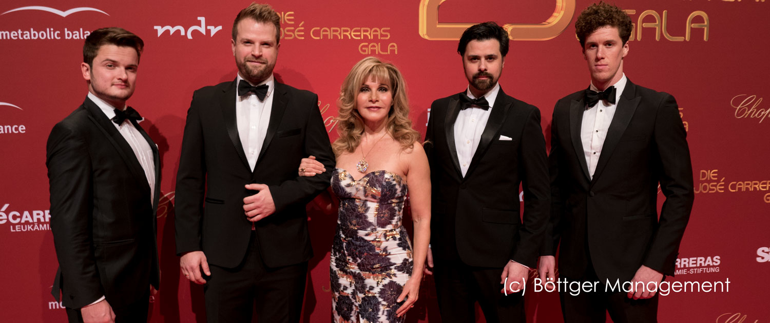 25. Josè Carrreras Gala 2019 mit VOXX The West End Tenors