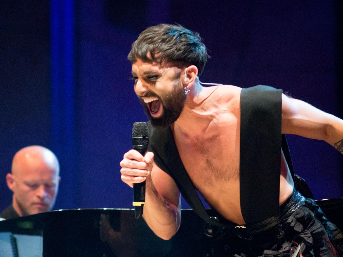 Conchita Wurst Debüt Nürnberger Symphoniker