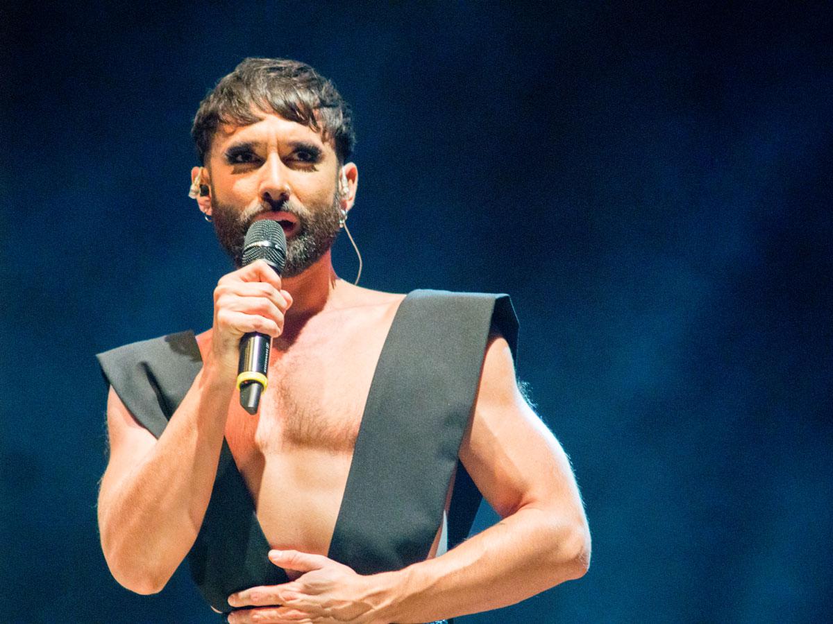 Conchita Wurst begeistert Nürnberger Publikum