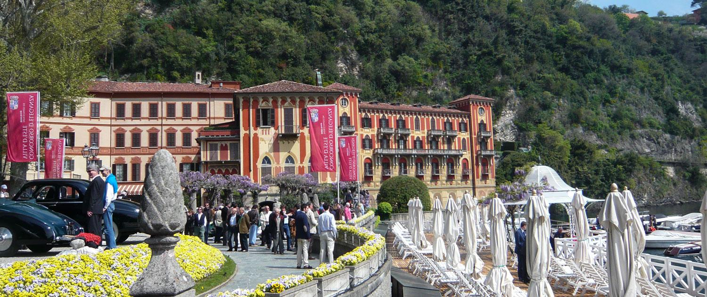 Bereit für den Concorso d Eleganza Villa d Este