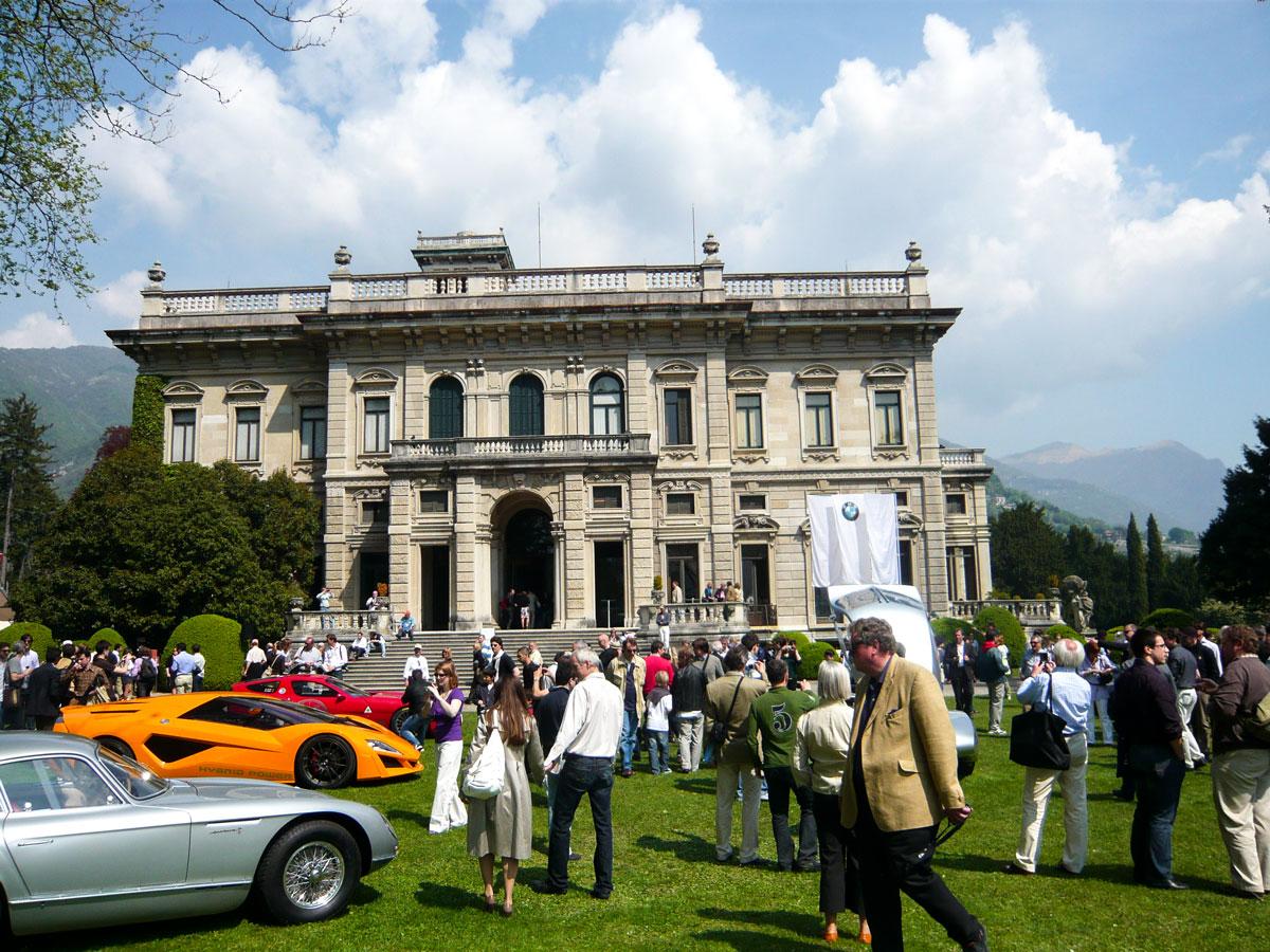 Villa Erba Concorso Villa d`Este zum Concorso deleganza