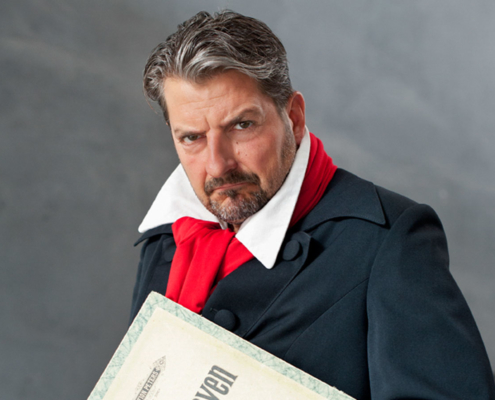 "Pianist Felix Reuter begeistert als ""Der verflixte Beethoven"" nicht nur in Bonn"