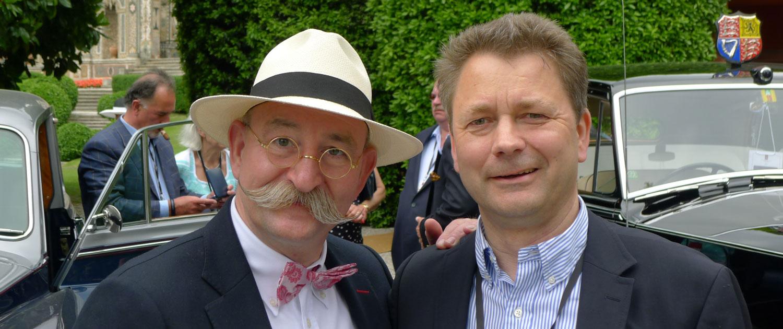 Horst Lichter trifft den Herausgeber von Bögazin