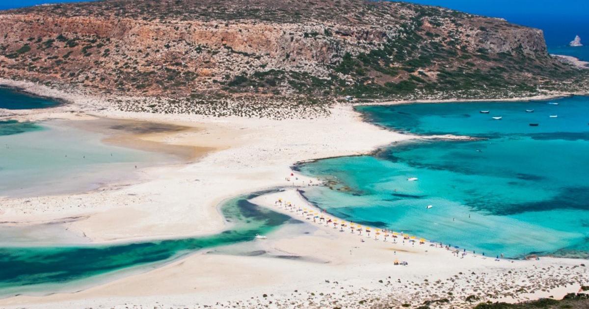 Balos Lagune und Gramvousa Insel auf Kreta