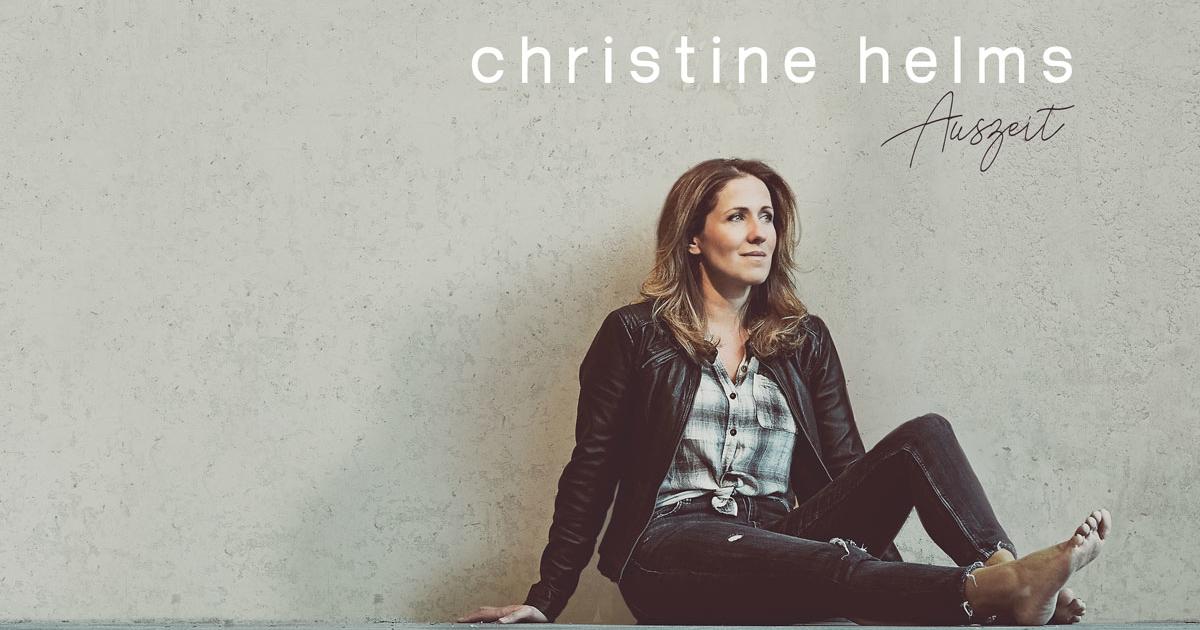 """Christine Helms gibt Debüt Konzert """"Auszeit"""""""