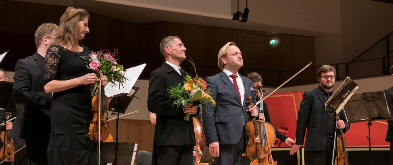 Udo Schenk liebt Vivaldis vier Jahreszeiten