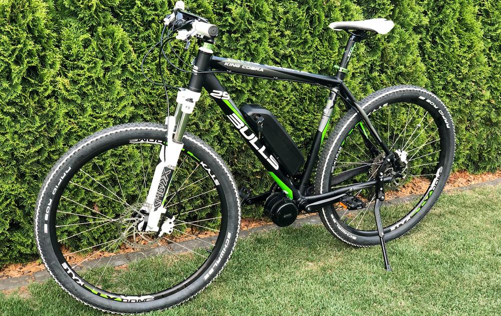 Umbau zum E-Bike von Montainbike