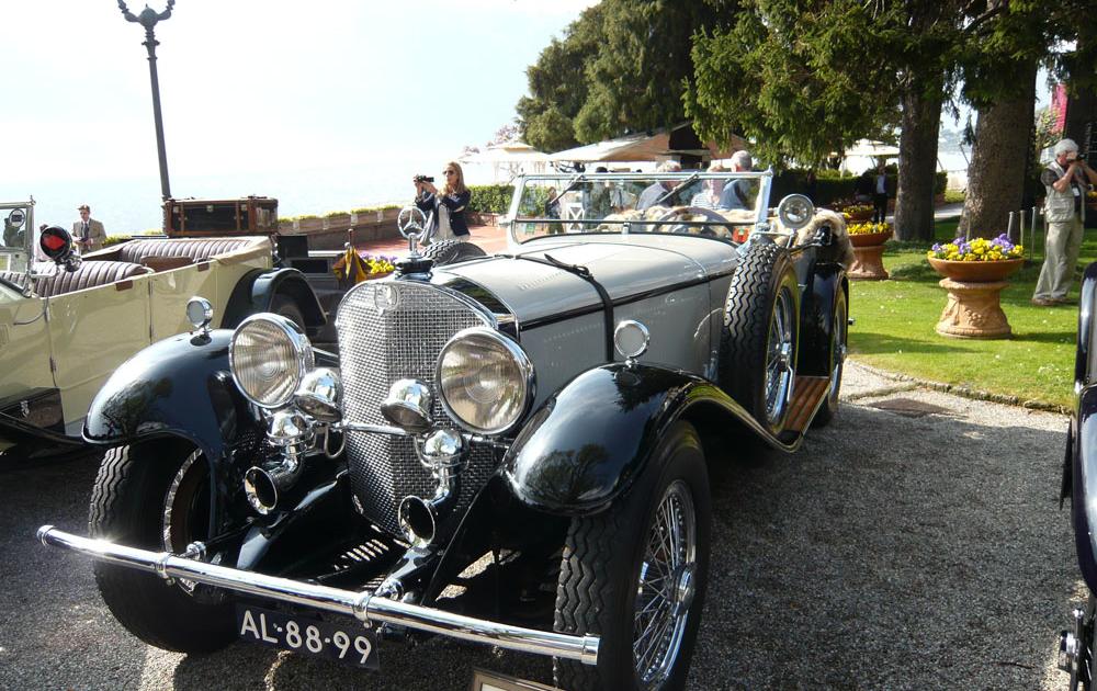BMW Classic Oldtimer Event Concorso d Eleganza Villa
