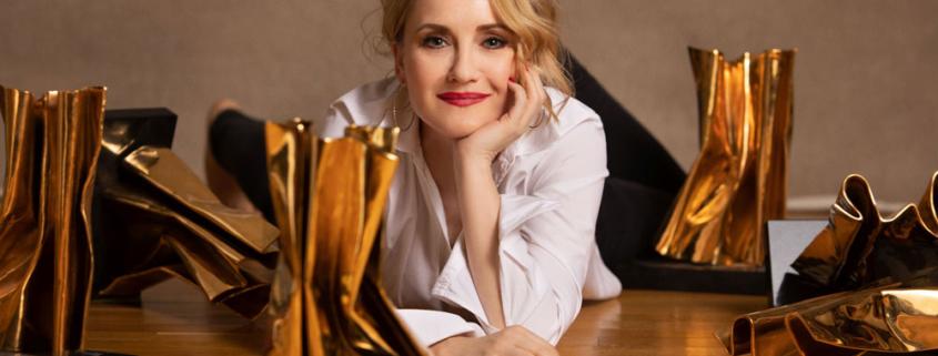 Sängerin und Schauspielerin Katharine Mehrling Berlin