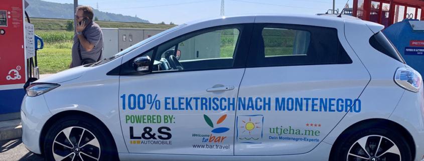 Renault Zoe elektrisch von Hamburg bis Montenegro