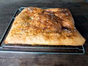 Focaccia-Brot einfach und schnell gebacken