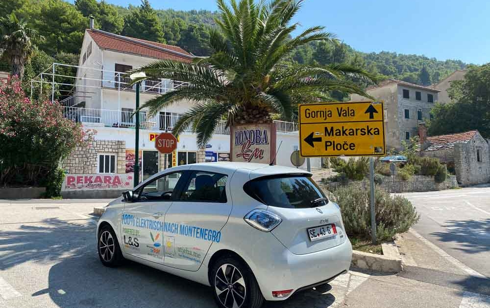 Elektrisch von Deutschland nach Montenegro