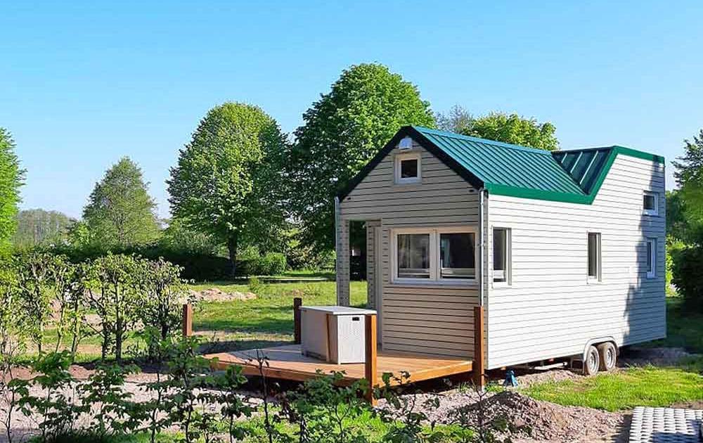 ein Tiny House benötigt ein Baugrundstück