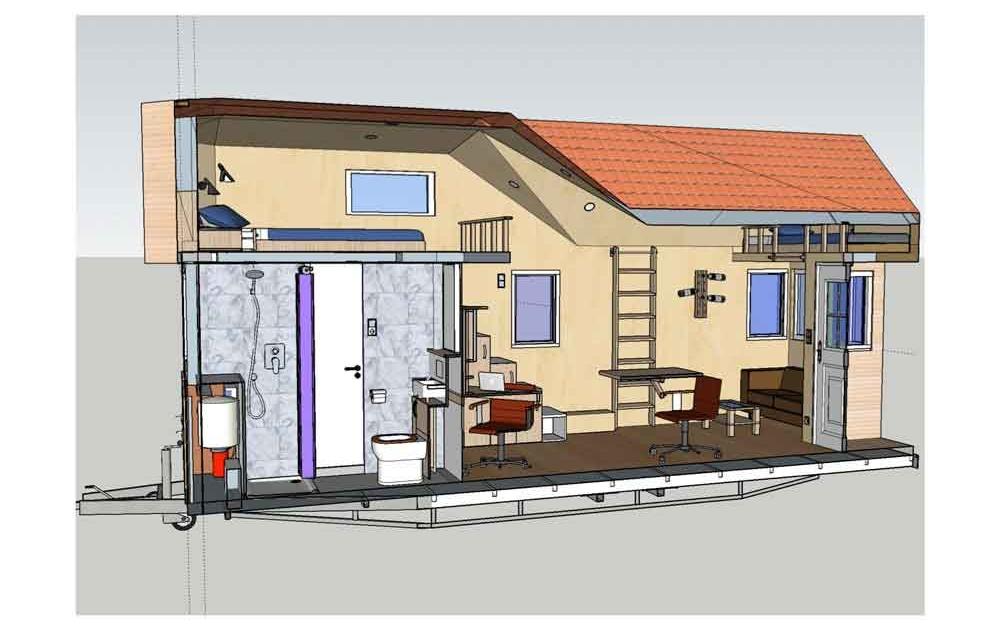 Bauantrag für Tiny House benötigt Architekten