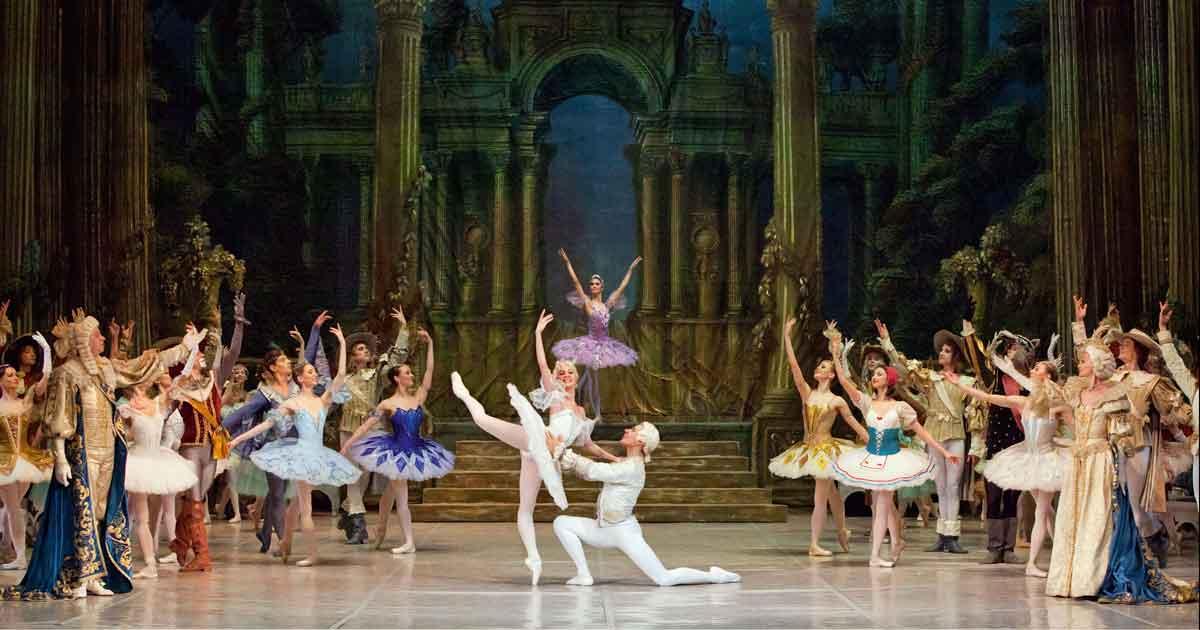 Dornröschen getanzt vom Staatlichen Russischen Ballett Moskau