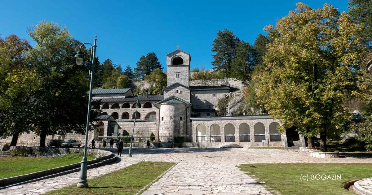 Kloster Cetinje ist Wahrzeichen der Stadt