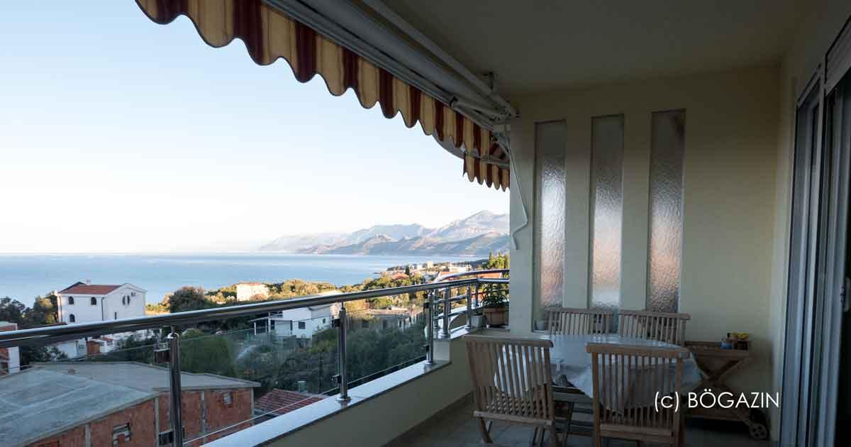 Ferienwohnung Montenegro mit Meerblick in Utjeha