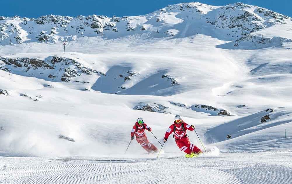 Skifahren mit Guide in St. Anton am Arlberg