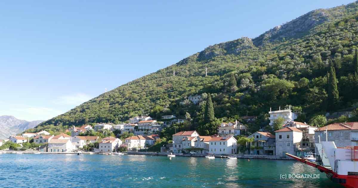 Bucht von Kotor magischer Montenegro Reisetipp