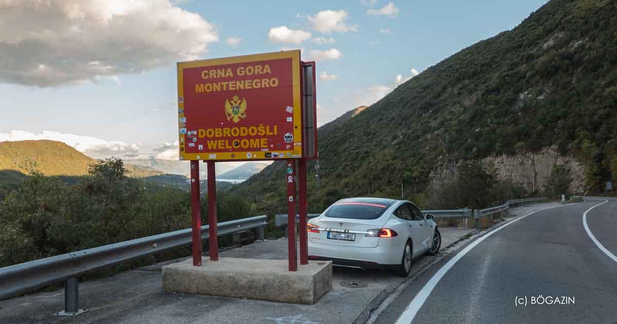 Im Elektroauto von Deutschland nach Bar in Montenegro