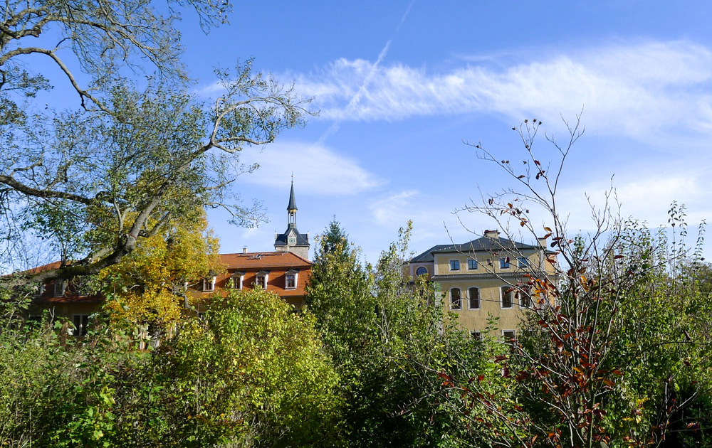 Englischer Park auf dem Ettersberg bei Weimar