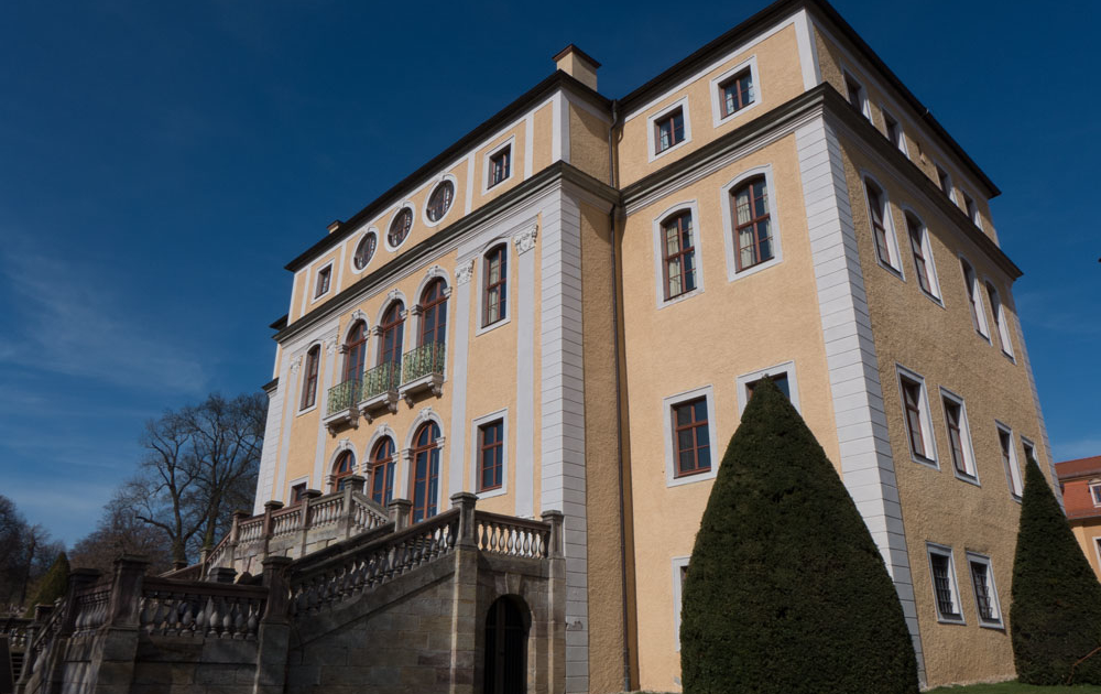 Schloss Ettersburg Weimar gehört zum UNESCO Weltkulturerbe