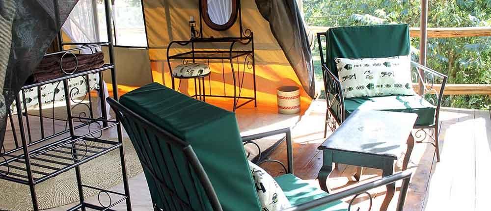Eine Lodge in Tansania als Homeoffice