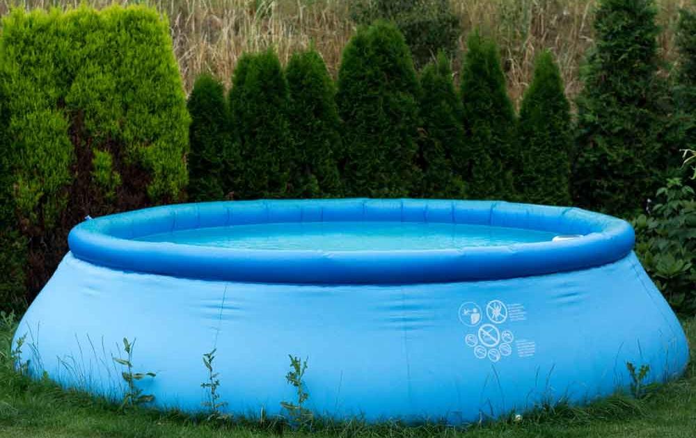 kostengünstiger aufblasbarer Swimmingpool