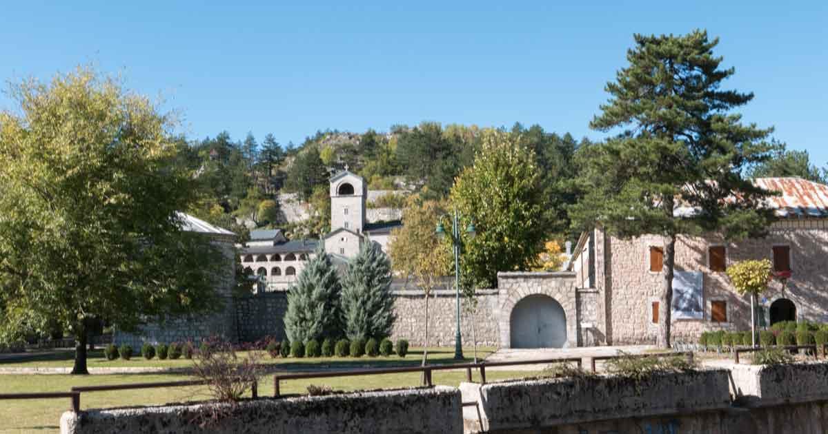 Historische Festung Biljarda in Cetinje