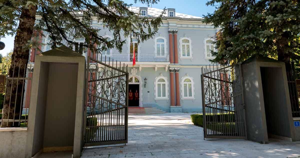 Schloss Thronfolger Danilo in Cetinje