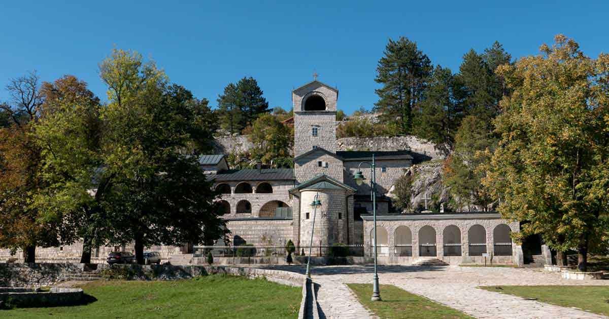 Das Kloster von Cetinje