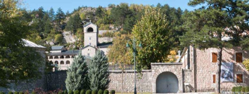 Cetinje Sehenswürdigkeiten Montenegro