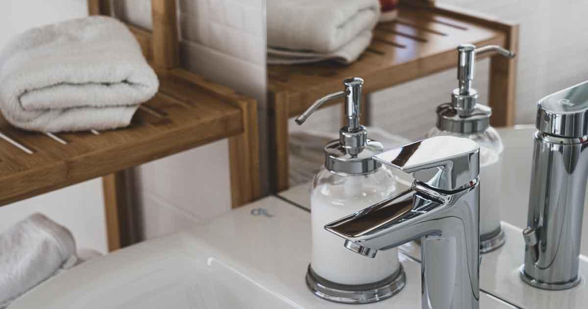 Badezimmer wird zum Wellness Bereich