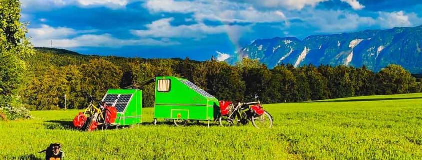 Warum nicht einen Fahrrad Wohnwagen selber bauen