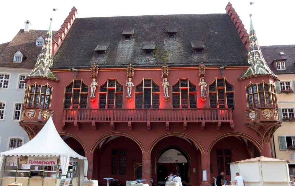 Freiburg Historisches Kaufhaus am Münsterplatz