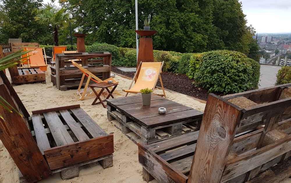 Lounge Sessel aus Europaletten