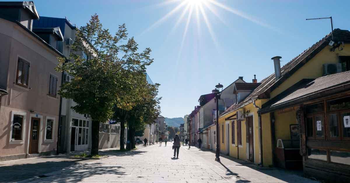 Kulturstadt Cetinje in Montenegro