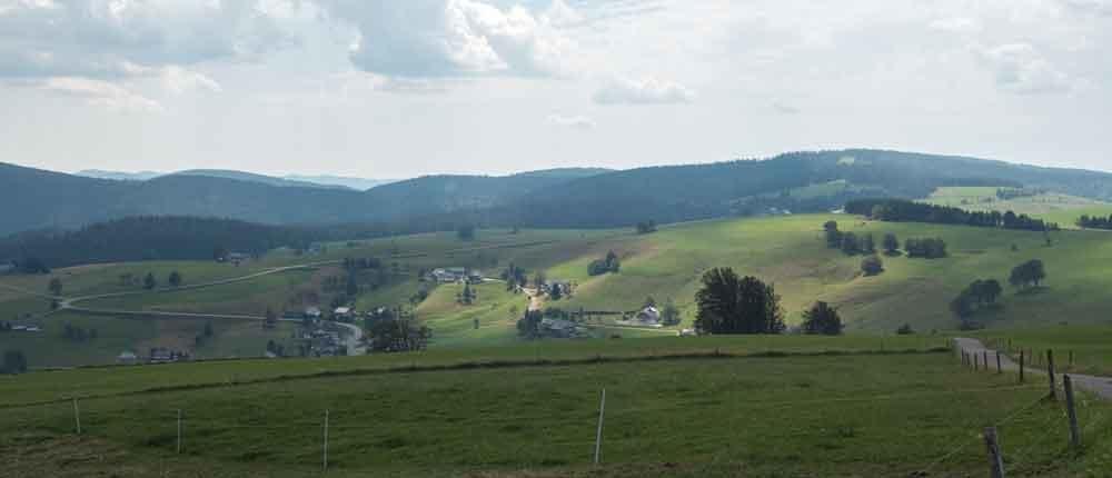 Beliebtes Ausflugsziel Schauinsland bei Freiburg im Breisgau