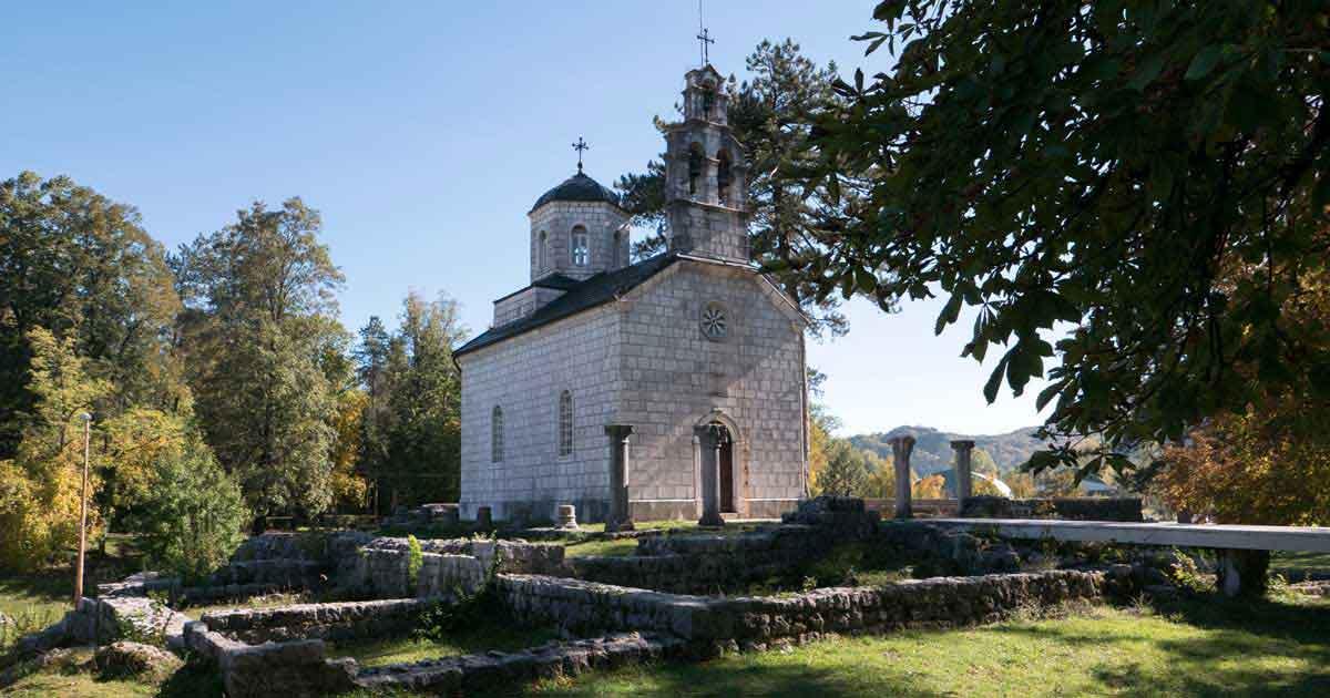 Vlaska Kirche in Centinje ist Kulturdenkmal
