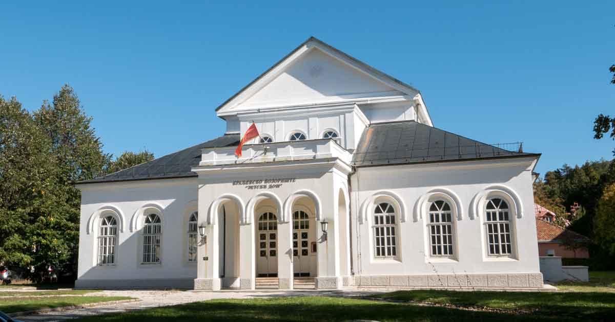 Erstes Theatergeäude von Montenegro steht in Cetinje