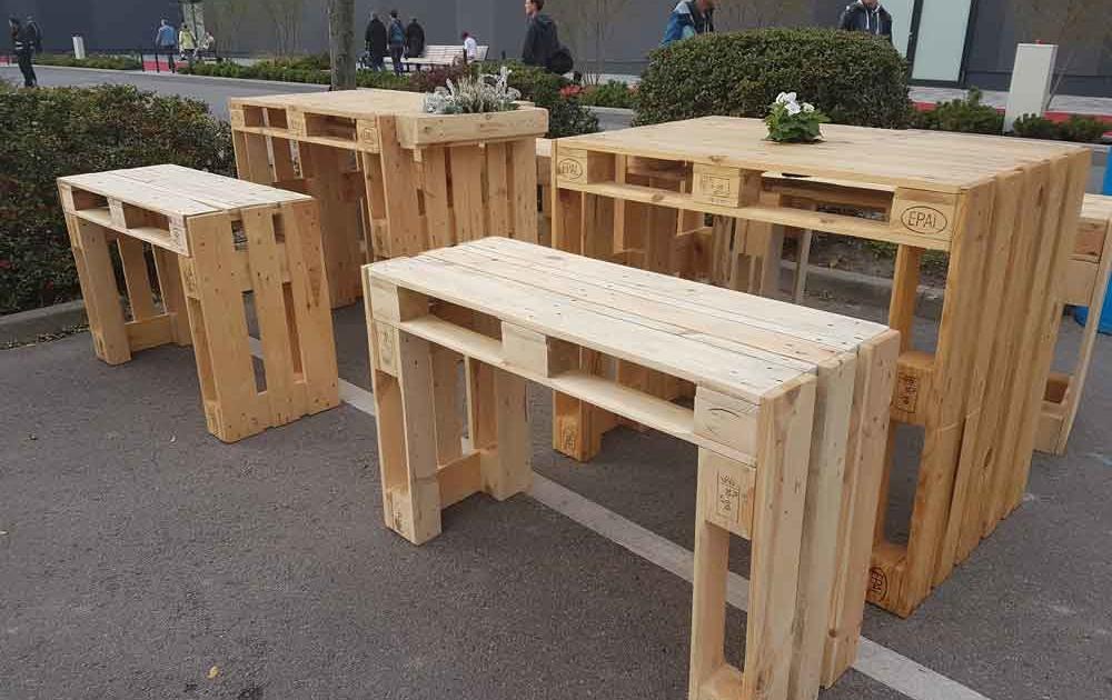 Lounge Möbel aus Paletten bauen