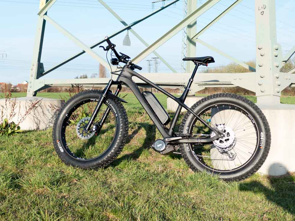 Fat Bike zum E-Bike umrüsten
