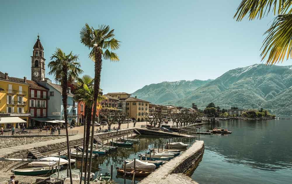 Ascona am Lago Maggiore im Tessin