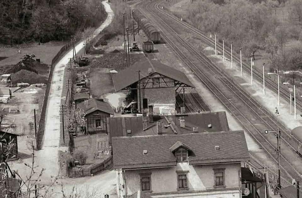 Ehemaliger Bahnhof Wiesenburg in Sachsen