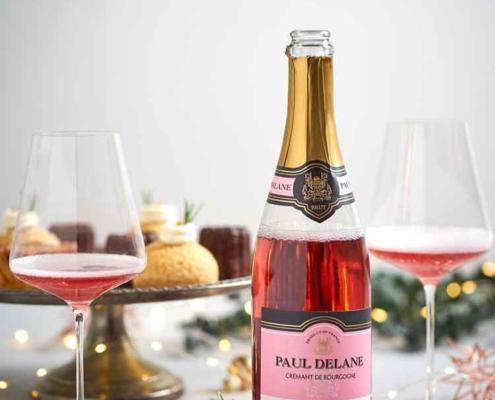 Rosé Crémants schmecken zu Delikatessen