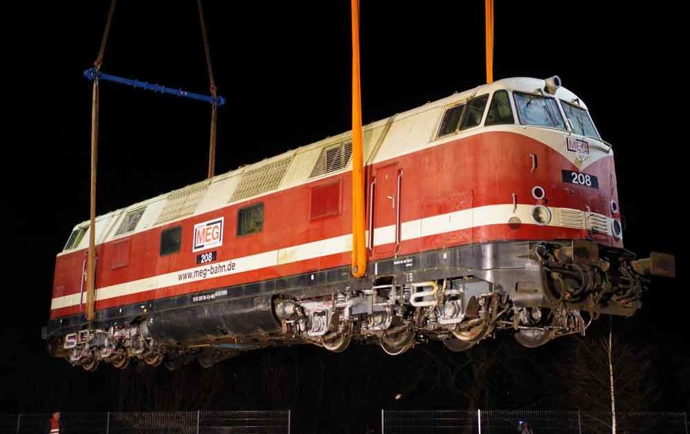 Umbau einer Diesellok V 180 zum Lok Hotel